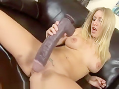 Deep Dildo Stretch