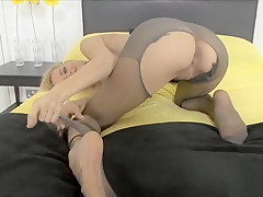 Pantyhosed4U Sky TAG dirty,pantyhosed,amateur,solo,masturbation,s