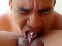 India guy eating Daughters pussy
