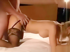 Hot Blond Soccer Mom In First Time Amateur FMM Threesome