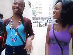 These African Chicks Are Eager To Make Each Other Cum. They