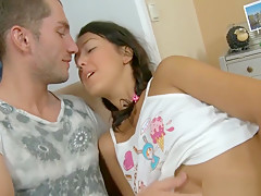 Mind-blowing Cookie Drilling Session For Sweet Lass