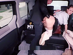 Fucked In Traffic - Czech School Girl Takes Dick In Traffic