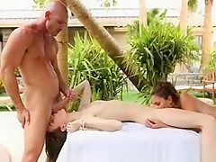 Teen Best Friends Playing With Pussy And Sucking Dick