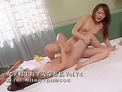 Hottest Japanese model in Crazy Lesbian, Amateur JAV video
