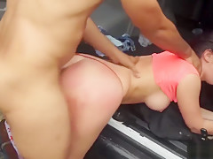 Brutal Toys Compilation And Redhead Slut Loves Treatment Car
