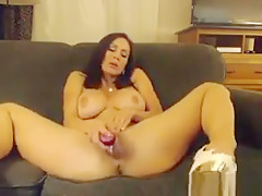 Naked Milf With High Heels On