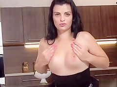 Nasty Czech Sweetie Opens Up Her Narrow Twat To The Strange