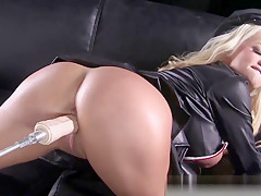 Russian Milf Nikita Gets Fucked By A Machine!