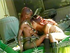 Fabulous pornstar in exotic black and ebony, blowjob adult movie
