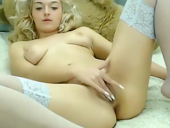Blonde Russian Teen Hoe Kate Suck And Jerk A Huge Pecker