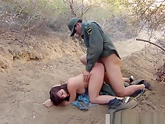 Police Woman Bound Mexican Border Patrol Agent Has His Own W