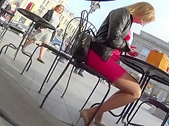 Public heels & stockings