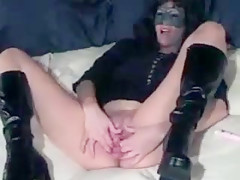 Bad Woman Fucking Her Vagina With Container