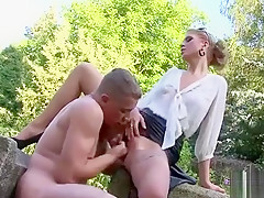 Milf Gives A Steamy Blowjob And Gets Pussy Drilled