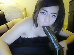 Sexy Michelle Toying Her Boobs On Her Webcam