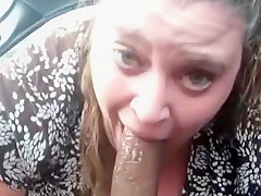 BBW sucking BBC on lunch break