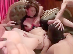 Rinka Kanzaki Savage Treatment For Her Amazing Pussy