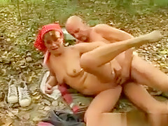 Dirty Horny Brunette Milf Takes Stiff