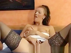Pounding A Gorgeous Black Immigrant Up Her Ass And Pussy