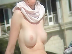 Cute Teen Nudist