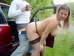 Busty Mom Like To Fuck Outdoor
