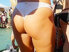 Candid Stunning Tanned Pawg!!! pt2