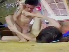 Thai Vintage Porn Movie Outdoor sex 2