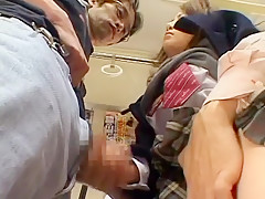 Crazy Japanese girl in Exotic Fetish, Public JAV scene