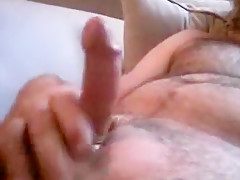 Oiled up dick