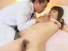 Asian Prego Receiving Finger Fuck And Enjoys It And Makes