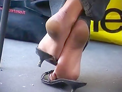 Candid Sexy Soles