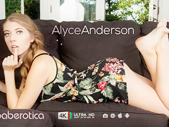 Sweet Alyce Anderson Uses A Toy To Make Herself Happy - Baberotica