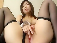 Fabulous amateur Solo Girl, Stockings xxx clip