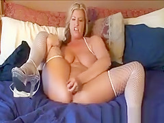 Horny Mother Masturbating