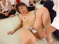 Incredible Japanese chick in Horny Group Sex, Public JAV movie