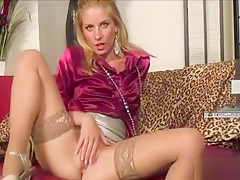 Leony Aprill Eating Up A Playgirl Like A Ravishing Muffin