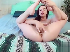 Hot Teen Foot Fetish With Cumshot