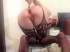 Anal toys - playing with my ass and enjoying it so much!