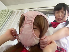 Crazy Japanese chick in Incredible Teens, Fetish JAV clip