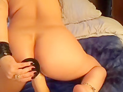 Oiled Asian ass fuck