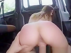 Blonde Mounted Fucking And Facial Cumshot In Bang Bus