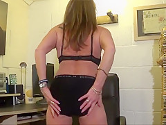Full Back Knicker's  Office chair strip