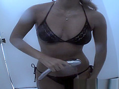 Hottest Russian, Beach, Changing Room Scene Uncut