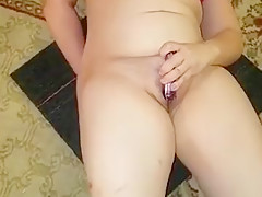 Sexy ass gf cums a river and tastes it