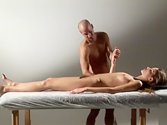 Silvie - The Naked Masseur - Hegre art