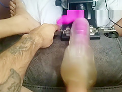 Sex Toy Invention Makes Hard Dick Bust So So Good