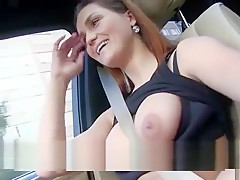 Barbara Bieber Blowjobs In The Car
