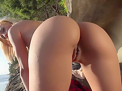 booty on the rock's
