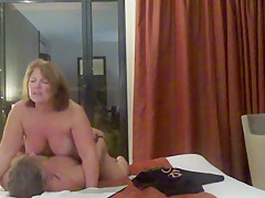 Helen gets her ass fucked in front of the hotel window